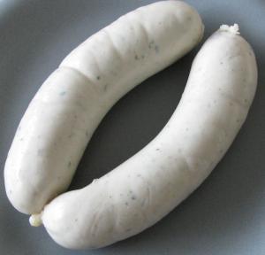 Weisswurst Sausage